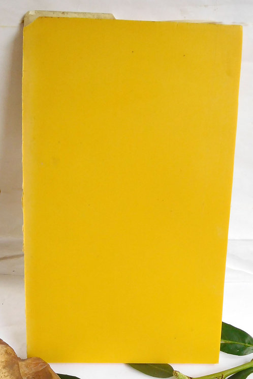 Plate YELLOW  Double side  *** RARE***