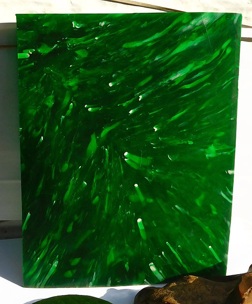 Plate GREEN with White Spots  *** RARE***