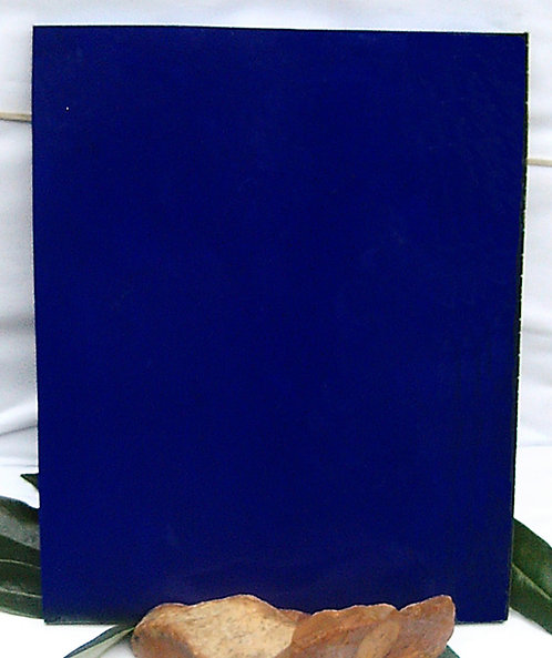 PLATE of GALALITH  NAVY BLUE