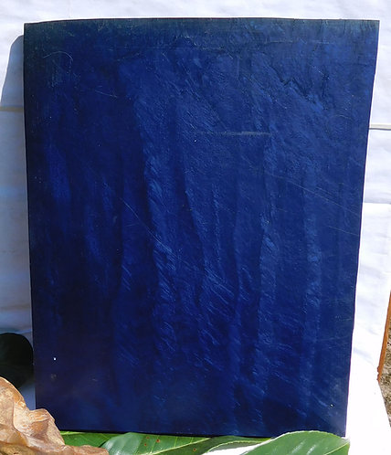 ** BEAUTIFUL Block Old GALALITH ** BLUE MARBLED