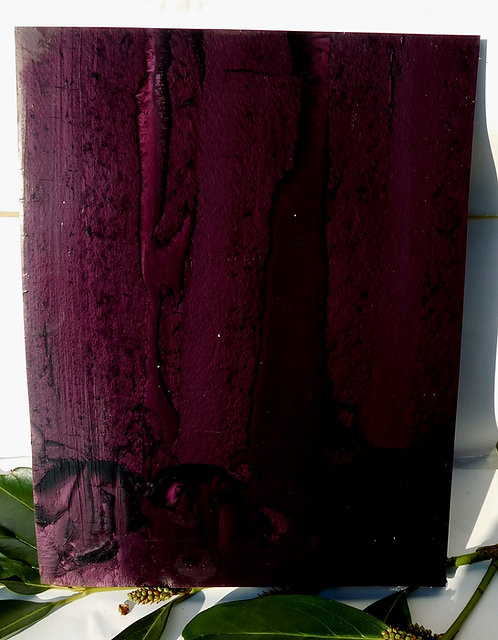 ** SUPERB Block Old GALALITH ** EGGPLANT / AUBERGINE  MARBLED