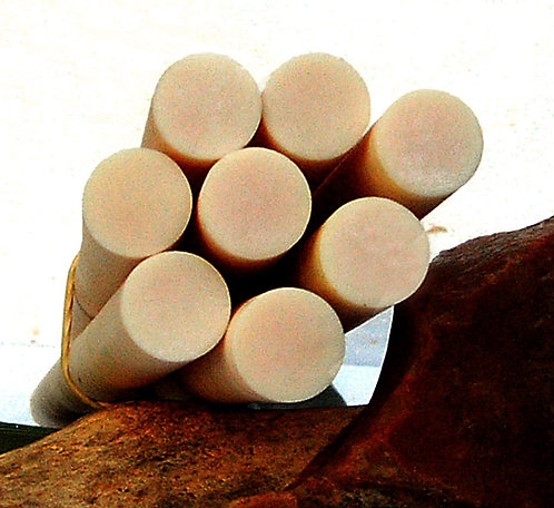 4 Rods  **  IVORY  **  EXCEPTIONAL Old GALALITH