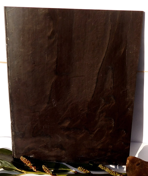 ** BEAUTIFUL Block Old GALALITH ** CHOCOLAT MARBLED