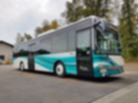 busbeschriftung iveco crossway rsvg