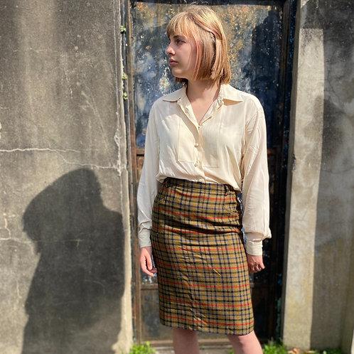 1970s Daks of London Tweed Skirt