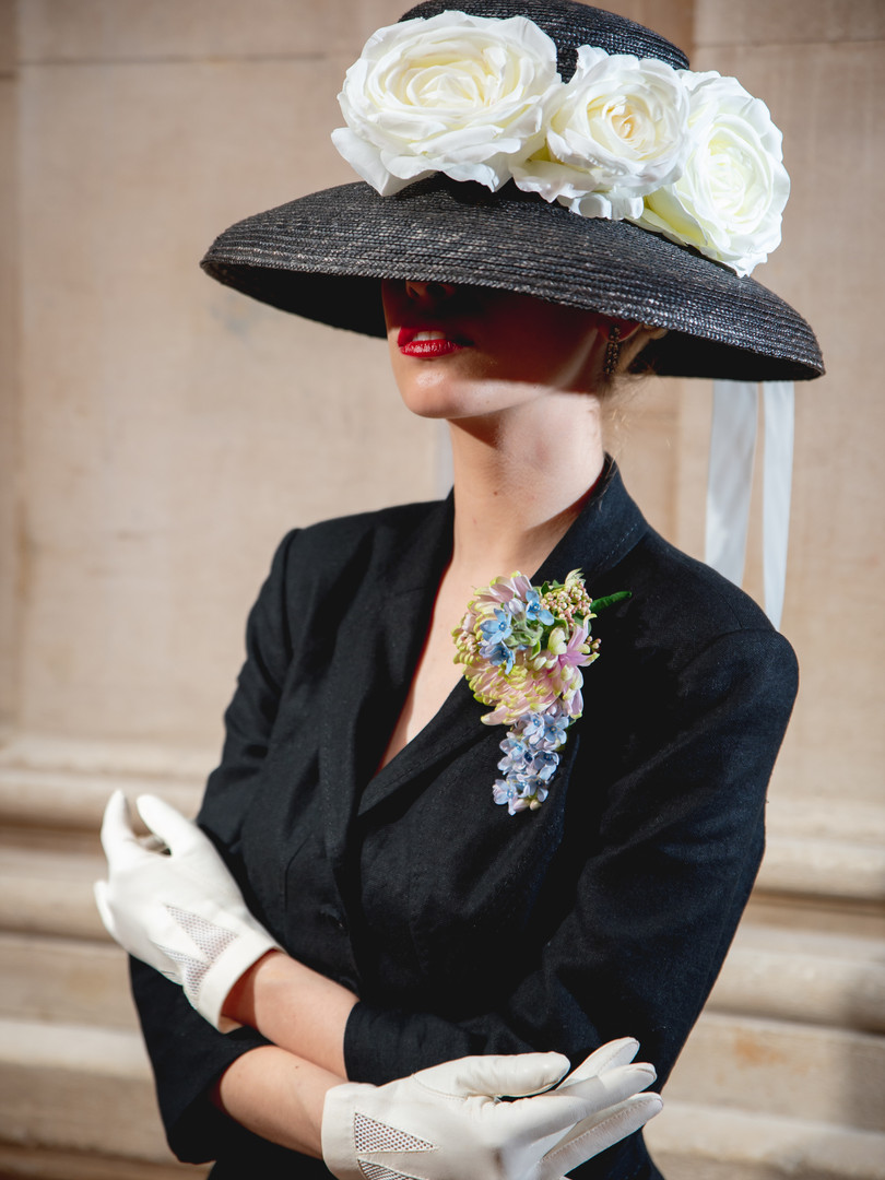 Christian Dior Style Hat