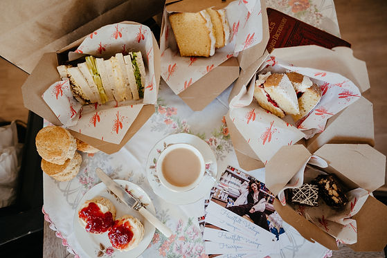 afternoon tea delivery bristol and bath