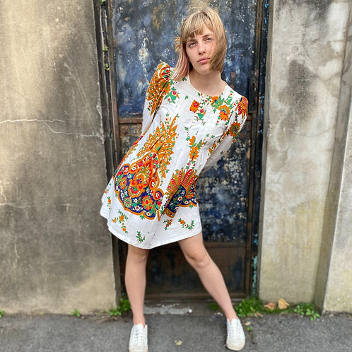 1960s Smock Top /Mini Dress