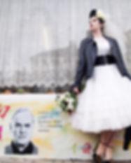 rockabilly bride