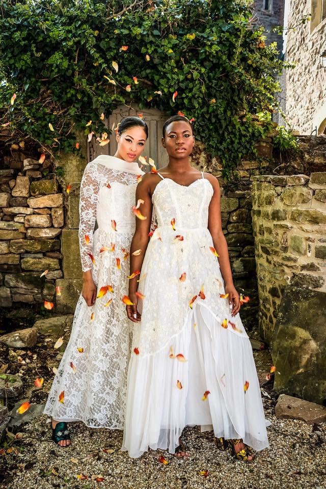 1950s Lace Vintage Wedding Dresses