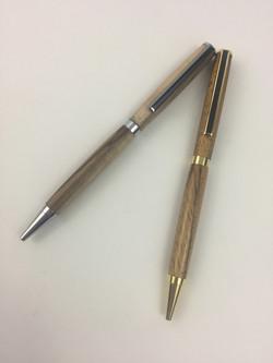 Custom wood pens