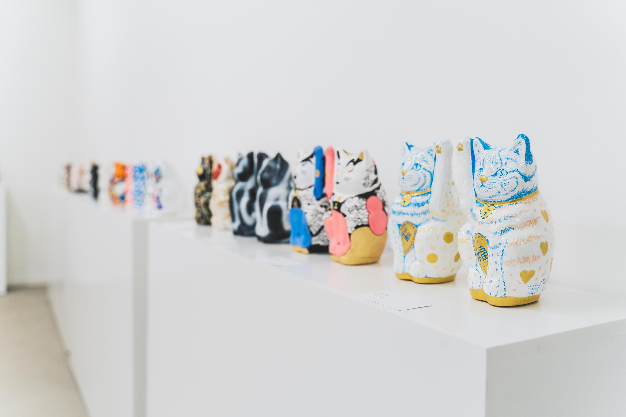 A Luckycat Exhibition . Scénographie