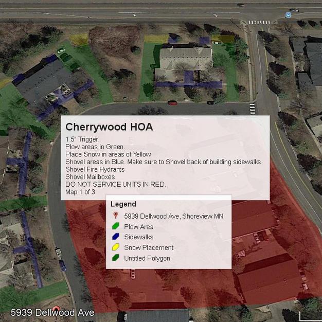 Cherrywood Map 1 of 3