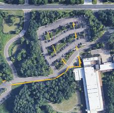 HB Fuller Sidewalk Map