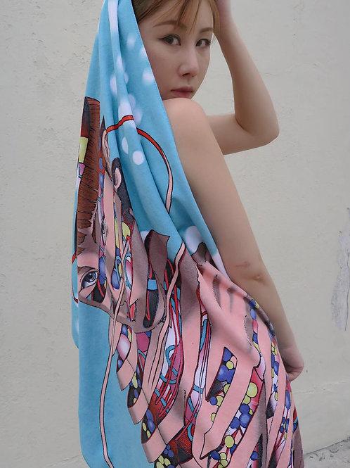 ShintaroKago x TikChi towel