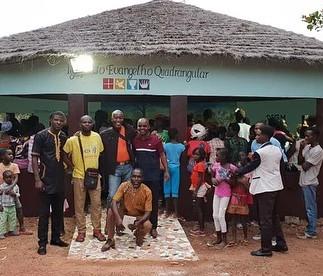 Inauguração da IEQ Guiné Bissau