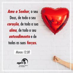 Ame o Senhor!