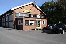Veibeskrivelse til Lommedalen Auto: Fra Sandvika -via E16 - Rud - Vøyenenga - Rykkinn -  Kolsås - Bærums Verk - Lommedalen