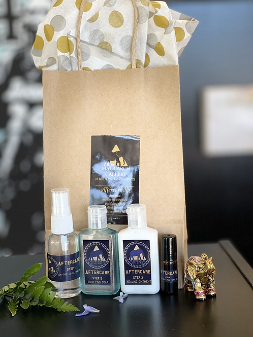 Matriarch Gallery's Signature Aftercare Bundle