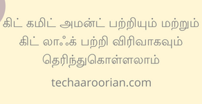 Learn git commit --amend and git log in depth in Tamil
