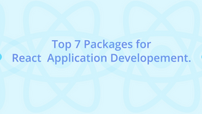 Top 7 Packages for React  Application Developement.