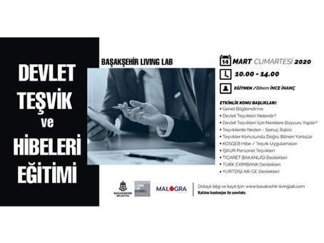 Malogra Girişimcilik Akademisi'nin Yeni Eğitimi 14 Mart'ta Başakşehir Living Lab'de !