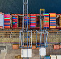 Canva - Top-view Photography of Cargo Sh
