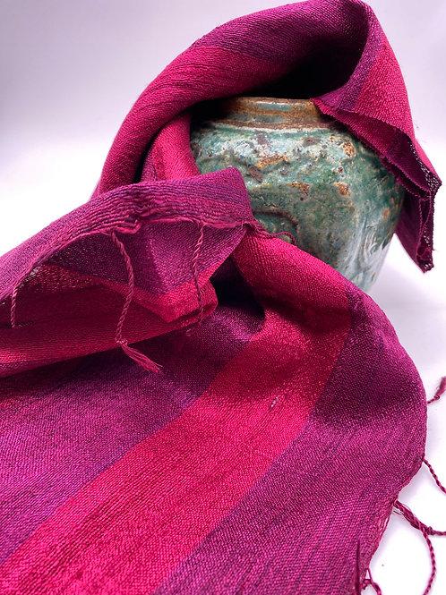 Silk & Linnen  red