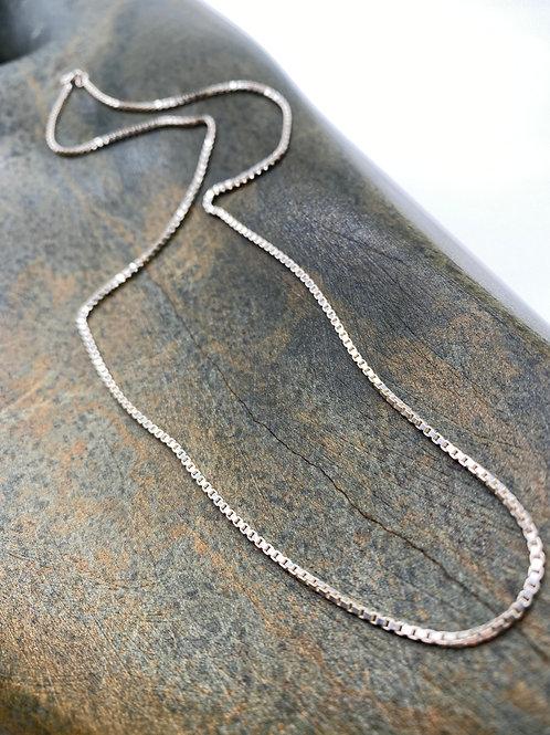 Silver necklace 2