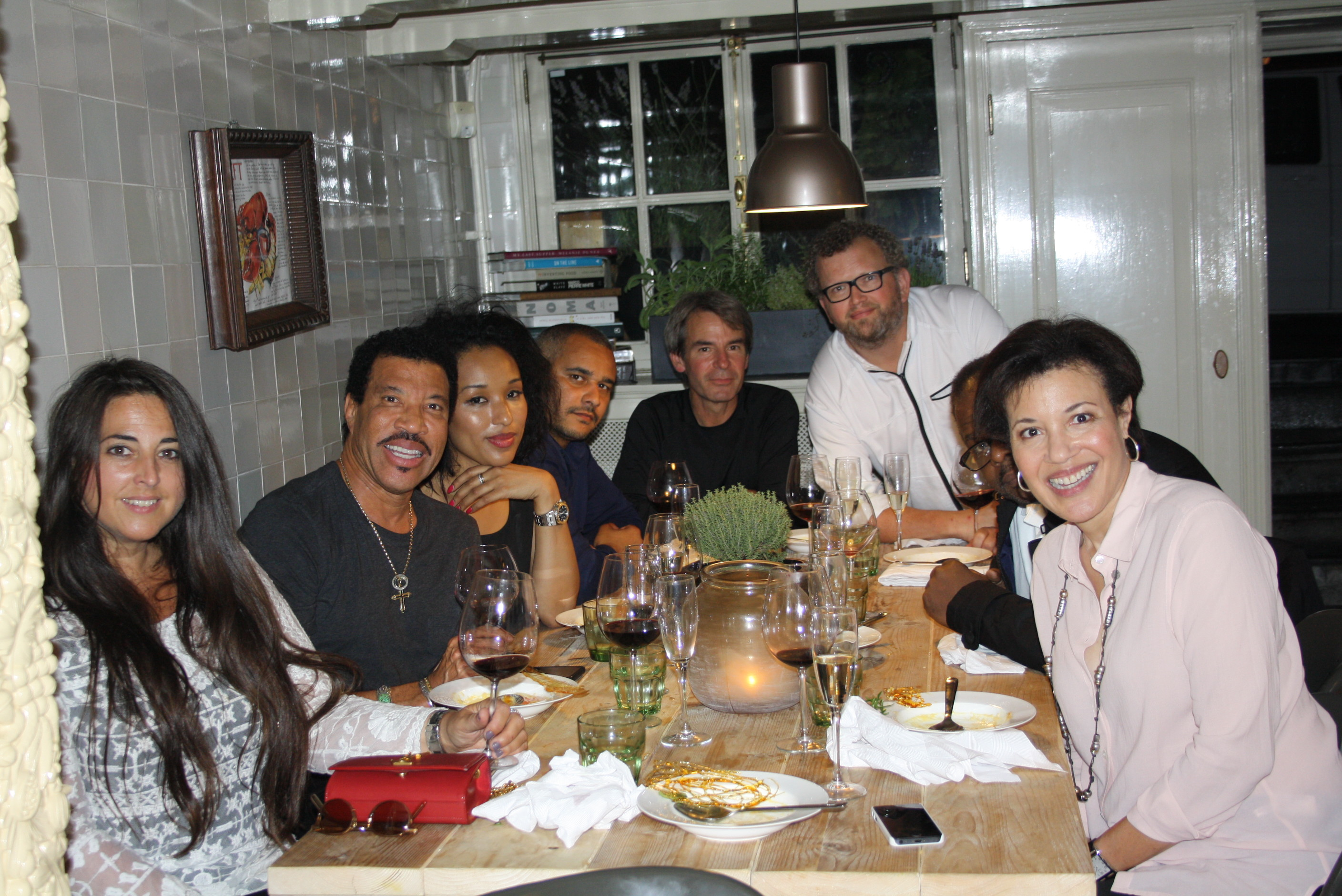 Lionel Richie at Kitchen Inc.