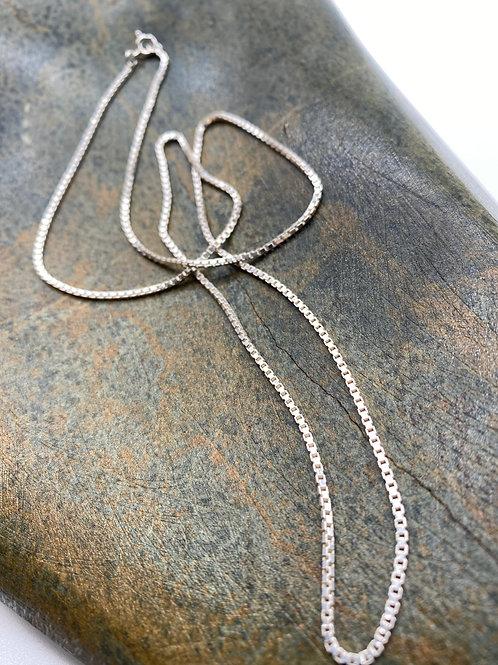 Silver necklace 3