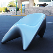 Can an object be sexy? Bluum chair answers this question in a sensual and fluid organic way representing the balance between feminine and masculine, understanding that one cannot exist without the other.