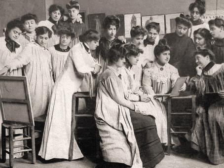 L'éducation artistique des femmes en France