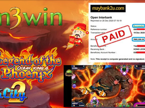 Legend Of Phoenix Fishing game tips to win RM5990 in Suncity