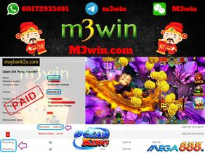Ocean King fishing game tips to win RM2500 in Mega888