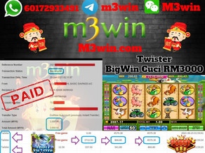 Twister slot game tips to win RM3000 in Pussy888