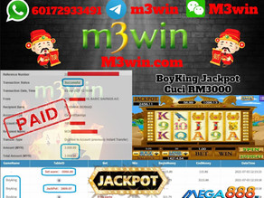 Boyking slot game tips to win RM3000 in Mega888