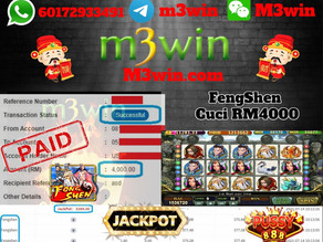 FengShen slot game tips to win RM4000 in Pussy888
