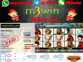 Three King slot game tips to win RM3000 in Pussy888