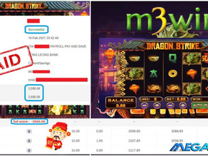 Dragon Strike slot game tips to win RM3000 in Mega888