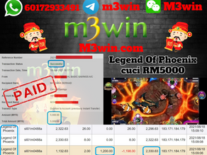 Legend Of Phoenix Fishing game tips to win RM5000 in Suncity