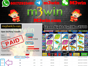 Green Light slot game tips to win RM2700 in Pussy888
