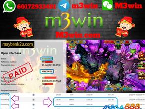 Ocean King fishing game tips to win RM3700 in Mega888