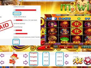 God of wealth slot game tips to win RM2620 in Xe88