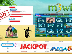 Thai Paradise slot game tips to win RM3200 in Mega888