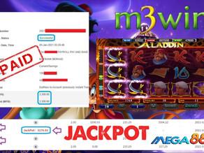 Aladdin slot game tips to win RM3300 in Mega888
