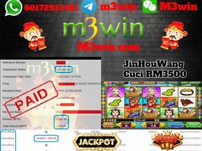 JinHouWang slot game tips to win RM3500 in Pussy888