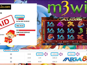 Aladdin slot game tips to win RM2760 in Mega888