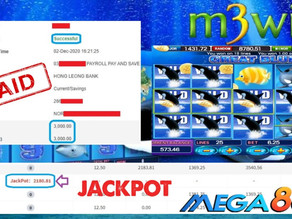 Great Blue slot game tips to win RM3000 in Mega888