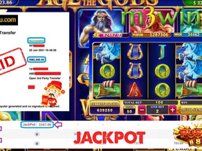 Age of the Gods slot game tips to win RM2000 in Pussy888